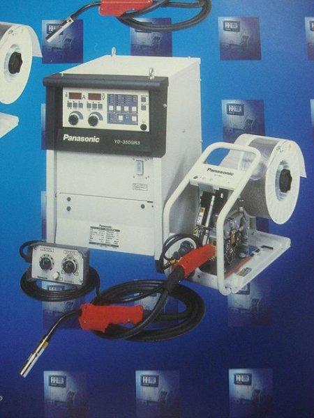 画像1: Panasonic フルデジタルCO2/MAG自動溶接機 350A (電源+ワイヤー送給装置) (1)