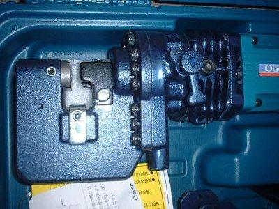 画像1: オグラ電動油圧パンチャー