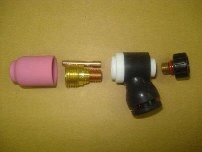 画像1: WP-9/WP-20用小型ガスレンズ用ノズル