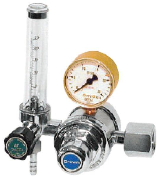 画像1: クラウン・アルゴンガス調整器(2段減圧の高級タイプ品) (1)