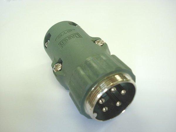 画像1: ダイヘン純正制御ケーブル接続プラグの受け側5ピン  (1)