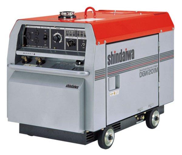 画像1: [大特価価格]新ダイワ【200A】ディーゼルエンジン溶接機兼発電機 (1)