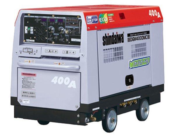 画像1: 【400A】2人同時溶接ディーゼルエンジン溶接機兼発電機 (1)