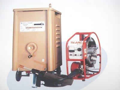 画像1: Panasonicノーガス溶接機(送給装置+トーチ)