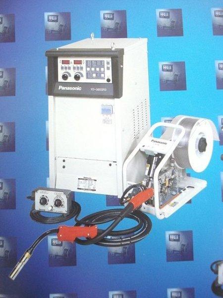 画像1: Panasonic フルデジタルCO2/MAG自動溶接機 GR3型500A(電源+ワイヤー送給装置=2点組) (1)