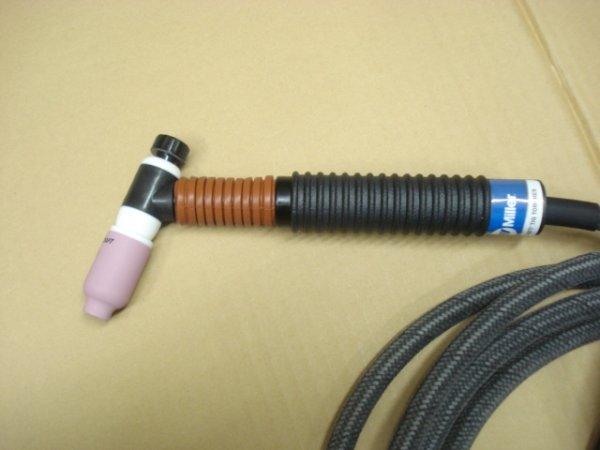 画像1: ダイヘン DA300P 接続仕様 ガスレンズ付200A-3.8M 空冷フレキシブルトーチセット (1)