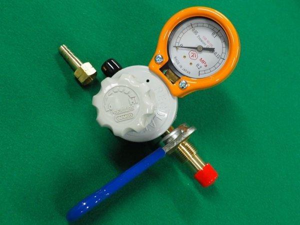 画像1: 工業用LP(プロパン)調整器 ヤマト産業製 (1)