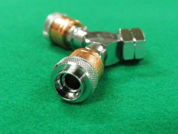 画像1: アポロコック 可燃性ガス用ゲージ直結用分岐ソケット (1)
