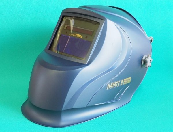 画像1: マイト工業 高速自動遮光液晶溶接面 HAYATE II (1)