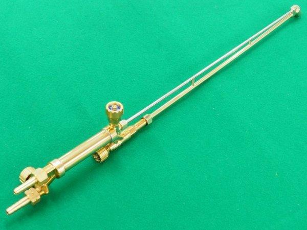 画像1: AC用ロング70cm 頭45度 中型切断器(火口なし) (1)