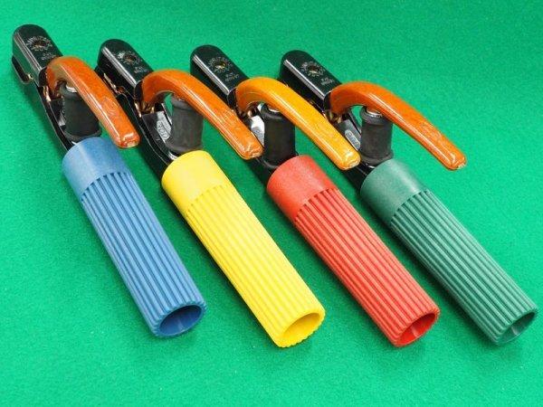 画像1: カラー溶接ホルダー 300A 三立電器製 (1)