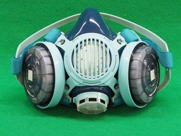 画像1: 取替え式防じんマスク サカヰ式  7191DK-03型 (1)