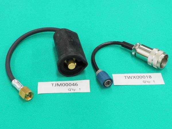 画像1: Panasonic TIG溶接用レッドトーチ YC-300BP4 /BZ3 接続用アダプタ (1)