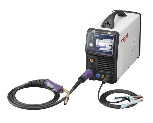 画像1: 【新製品】[マイト工業:CO2/MAG/MIG/TIG/手棒アーク溶接可能 インバーターマルチ半自動溶接機MDM-200S08型 (1)