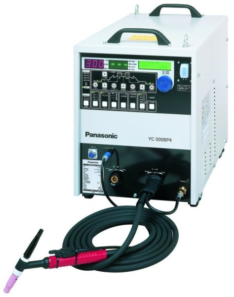 画像1: Panasonic フルデジタル交流/直流TIG溶接機 YC-300BP4 4点セット (1)