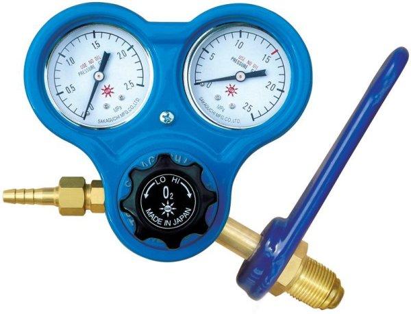 画像1: 酸素調整器 関西式スパナ付 S-3S  (1)