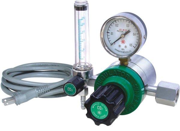 画像1: 炭酸ガス調整器  ヒーター内蔵型 R-8 (1)