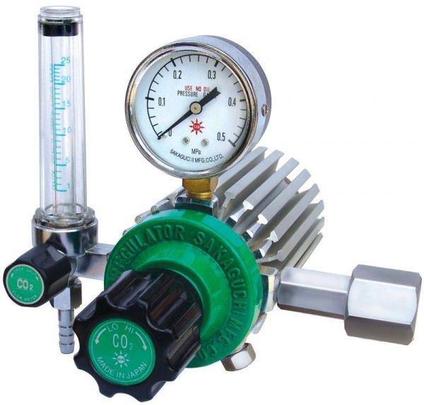 画像1: 炭酸ガス調整器  ノーヒーター型 R-8L (1)