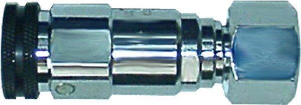 画像1: 調整器直結用ユポロック ソケット RV-1  酸素用 (1)