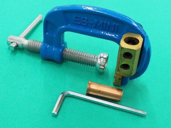画像1: 万力タイプ・アースクリップ 三立電器製   (1)