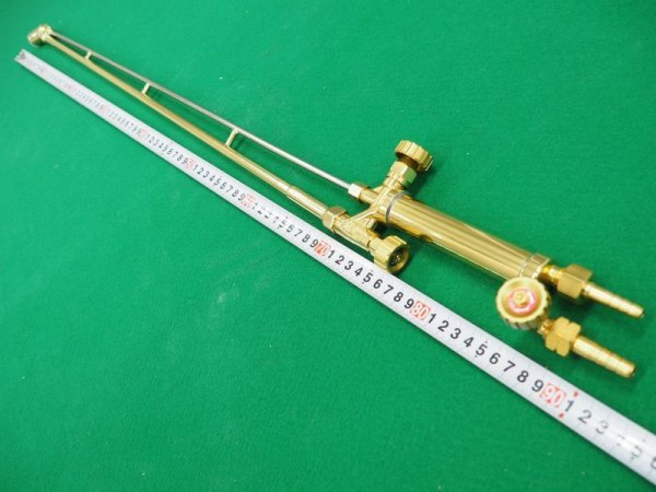 画像1: 頭45度大型A型A号切断器 (長さ/火口有・無 選択) (1)