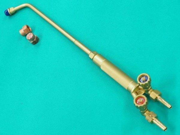 画像1: 酸素・アセチレン用小型加熱器 火口2個付 (1)