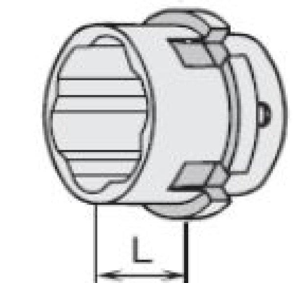 画像1: 建方1番(トルシアボルト用)アウターソケット KSM (1)