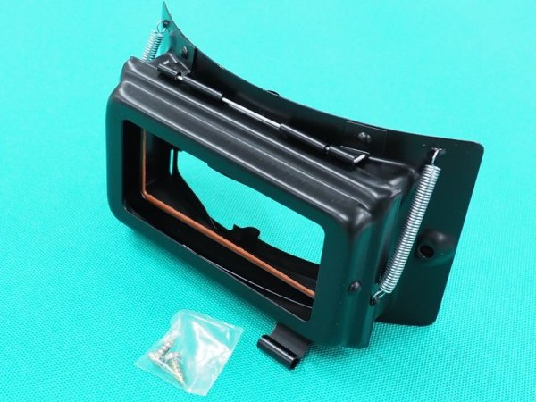 画像1: 星光製 溶接面用開閉窓枠 SH-A型用(黒色) (1)