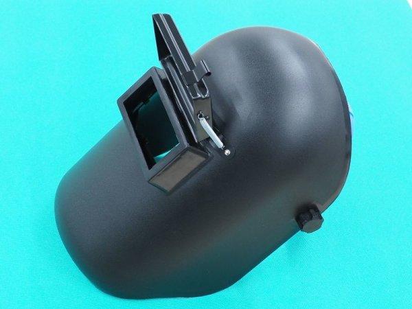 画像1: 被り面 PP遮光面 No.P005 PPヘルメットA型 (1)