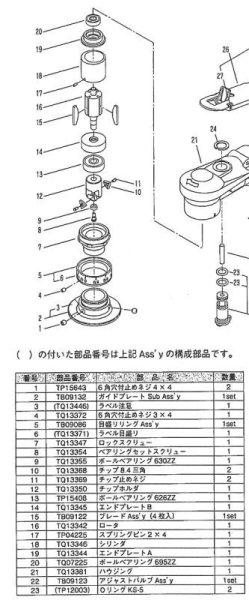 画像1: サーキットベベラー CB-01 用部品 ベアリングセットスクリュー/ボールベアリング 630ZZ (1)