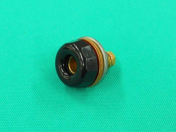 画像1: 旧型トーヨーアーク・イクラアーク用溶接機側メス金具  (1)