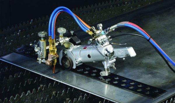 画像1: 半自動切断機 ウィーゼルV用継レール1.8m (1)