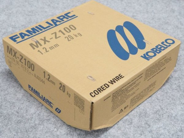 画像1: 高溶着で低スパッタが特長 MX-Z100 1.2mm-20kg  (1)