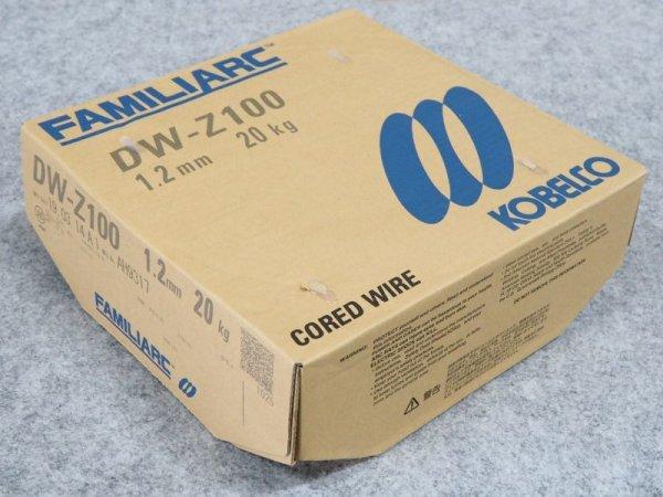 画像1: 全姿勢用フラックス入りワイヤ DW-Z100 1.2mm-20kg  (1)