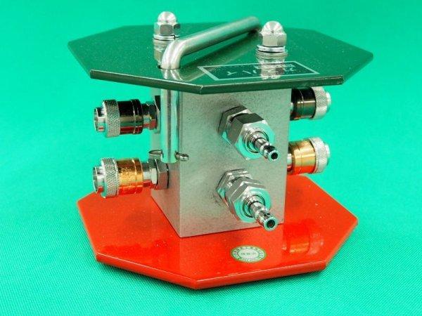 画像1: ポータブルガス3方向分配器 (1)