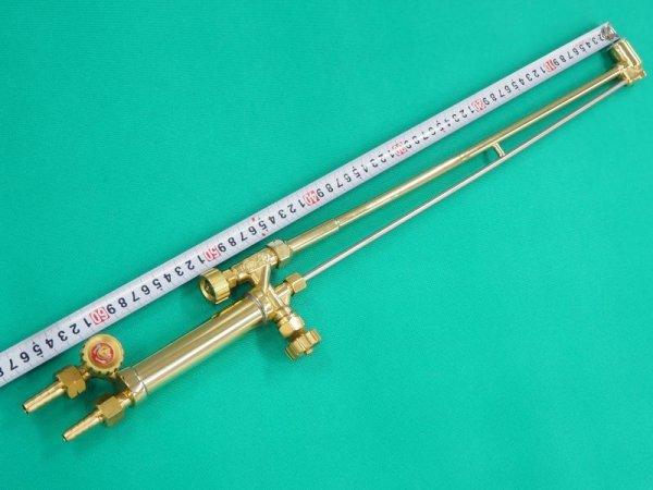 画像1: AC用65cm ロングタイプ大型A号ガス切断器 本体ノミ 火口なし (1)
