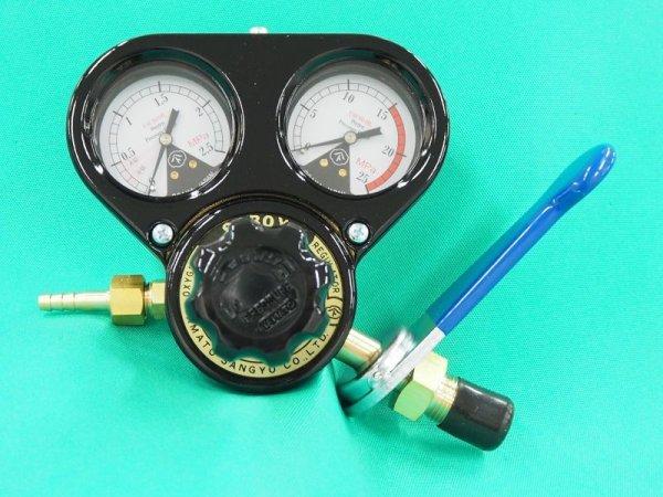 画像1: 酸素調整器 スパナ付 関西式  (1)