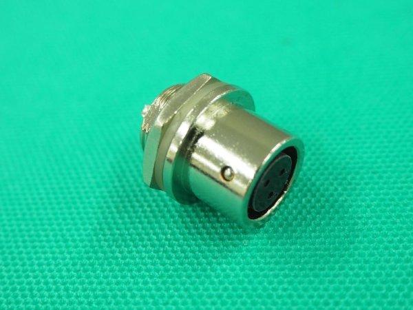 画像1: インバーターデジタル直流TIG溶接機本体トーチスイッチ受け側 (1)