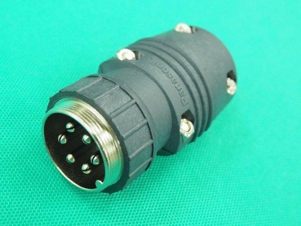 画像1: Panasonic  CO2溶接機制御ケーブル用メタルコンセント (1)