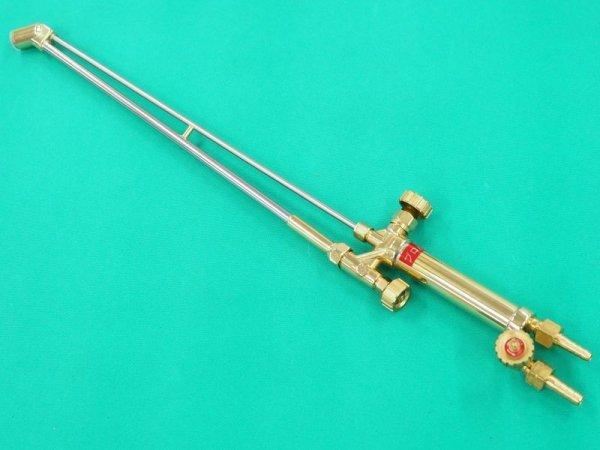 画像1: (別注品)LP用ロング65cm頭45度A型切断器(火口なし) (1)