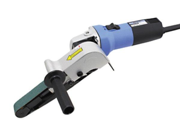 画像1: 電動式ベルトサンダー ベルトン30型  研磨ベルト幅30mm (1)