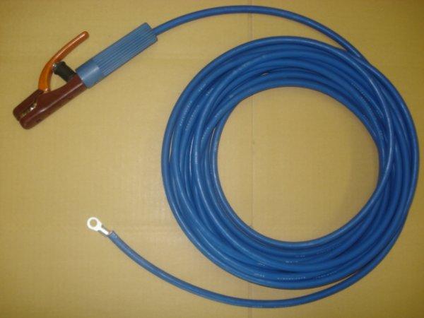 画像1: 青色ホルダー線・端子付 (1)