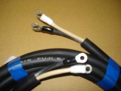 画像1: 電源ケーブル 3芯-22mm2(端子付)