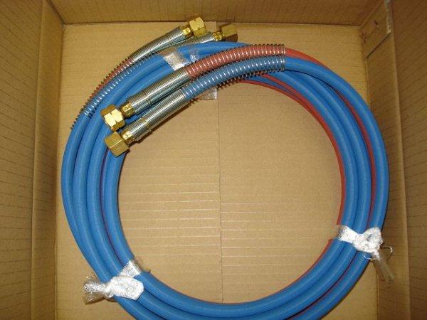 画像1: 細径ガスホース 袋ナット付 (1)