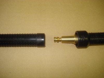 画像2: DINSEディンゼ大型オス/K19メスねじ込み型変換アダプター