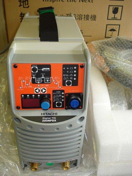 画像1: 日立 直流TIG溶接機100V200V兼用 ※生産終了 (1)