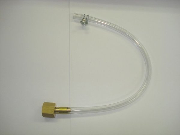 画像1: 日立純正TIG溶接機用電源端子用ガスホース0.3M (1)