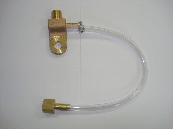 画像1: 日立純正TIG溶接機用電源端子(ガスホース0.3M付) (1)