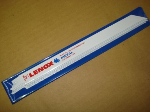 画像1: レノックス セーバーソー替刃 250mm  5枚入 (1)