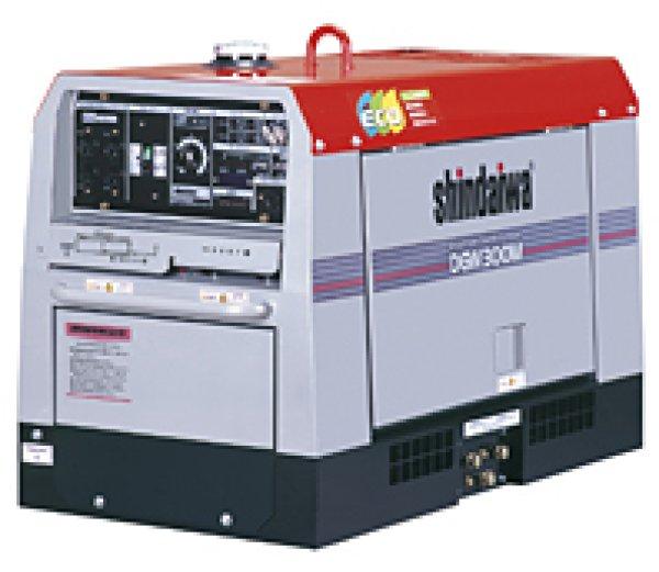 画像1: 【300A】ディーゼルエンジン溶接機兼発電機 (1)
